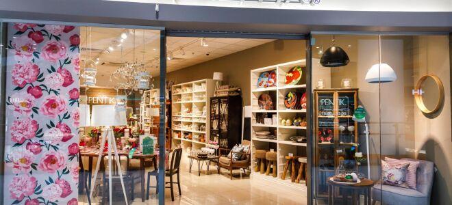 Мебельный магазин Pentik Shop в Финляндии
