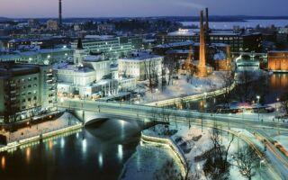 Тампере Финляндия – что посмотреть?