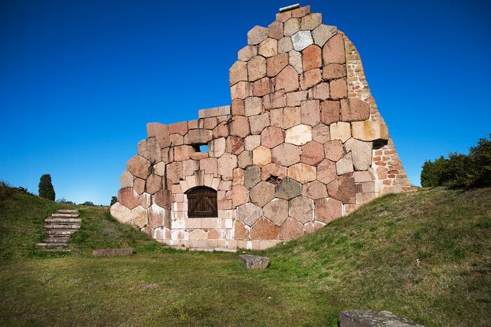 русская крепость Бомарсунд, Аландские острова