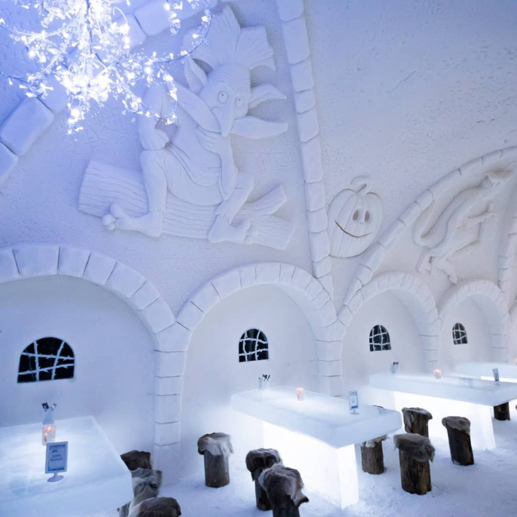 Снежный замок в Кеми, Лапландия