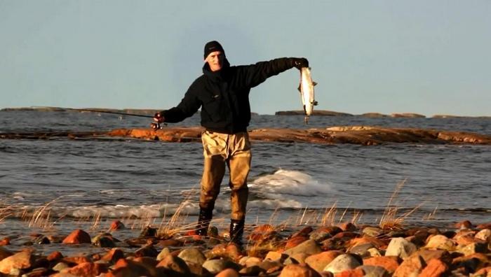 Рыбалка на Аландских островах, Финляндия