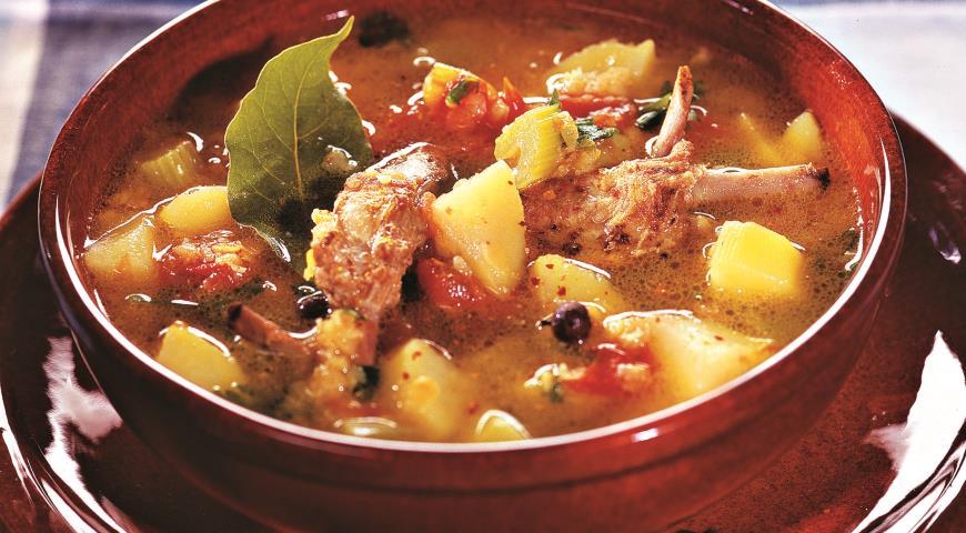 суп из лисичек со сливками и форелью