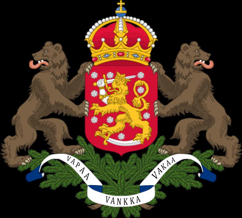 Герб Финляндии неутвержденный