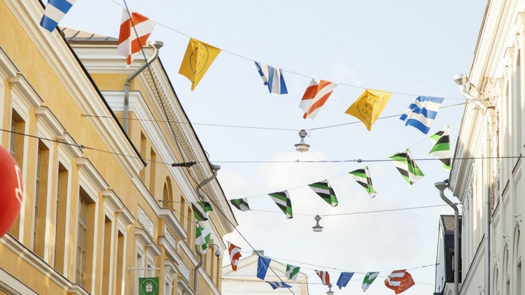 Праздник 1 мая в Финляндии