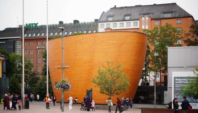 Часовня тишины в Камппи, Хельсинки