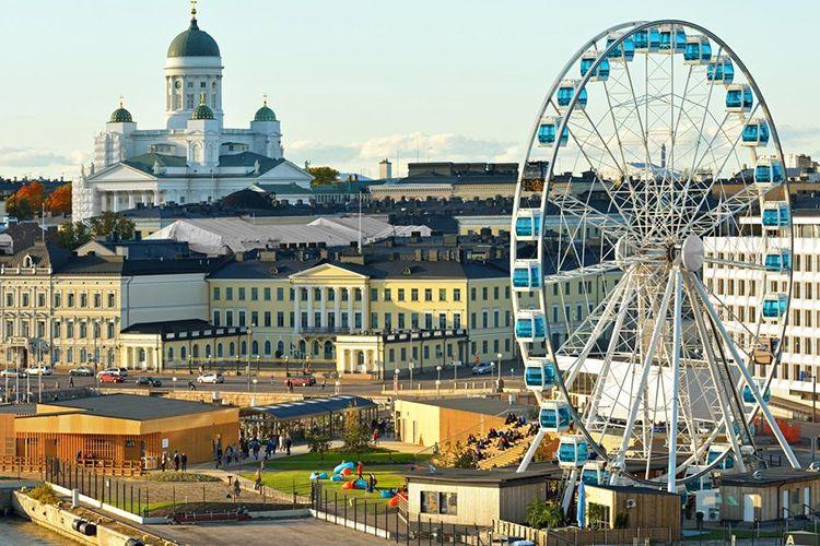 Хльсинки - столица Финляндии