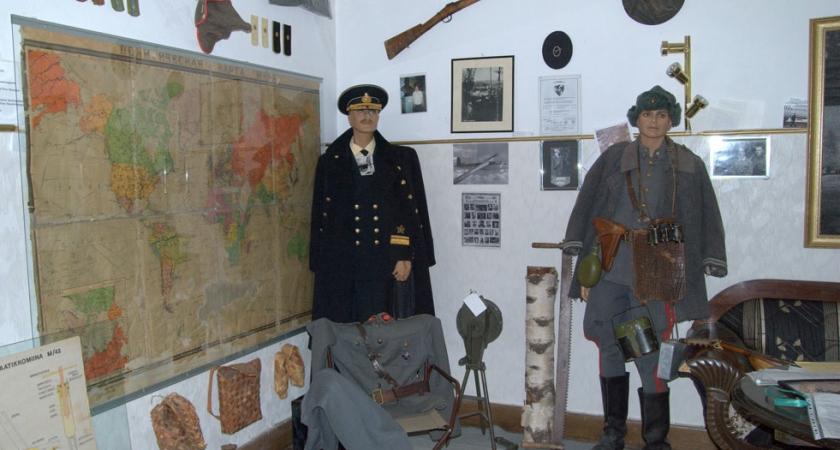 Музей ветеранов войны в Иматре
