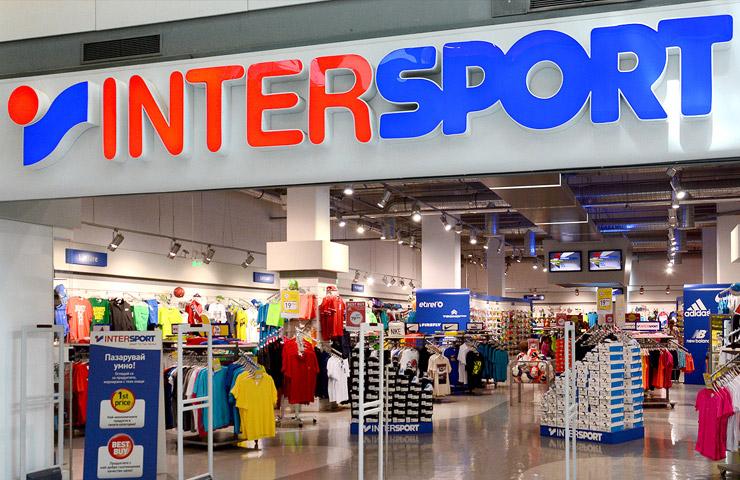 Магазин Intersport в Лаппеенранте