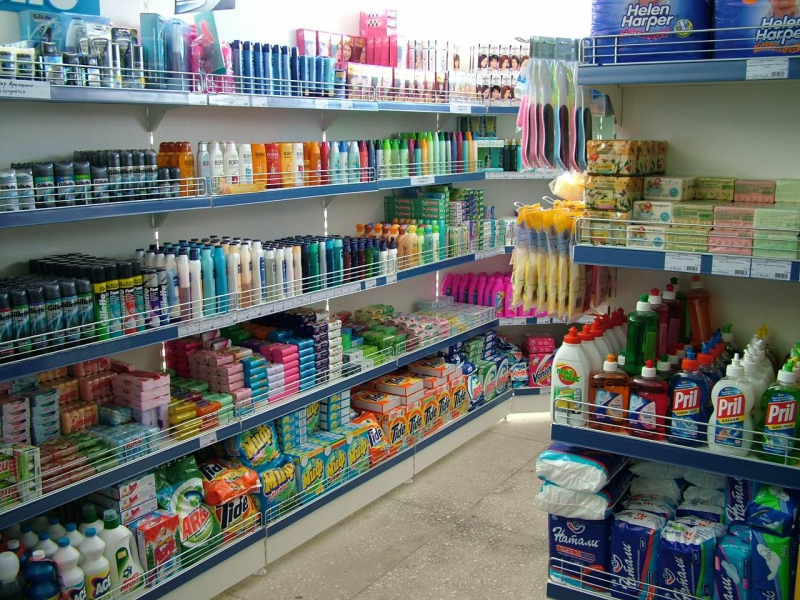 Магазин Rajamarket в Финляндии
