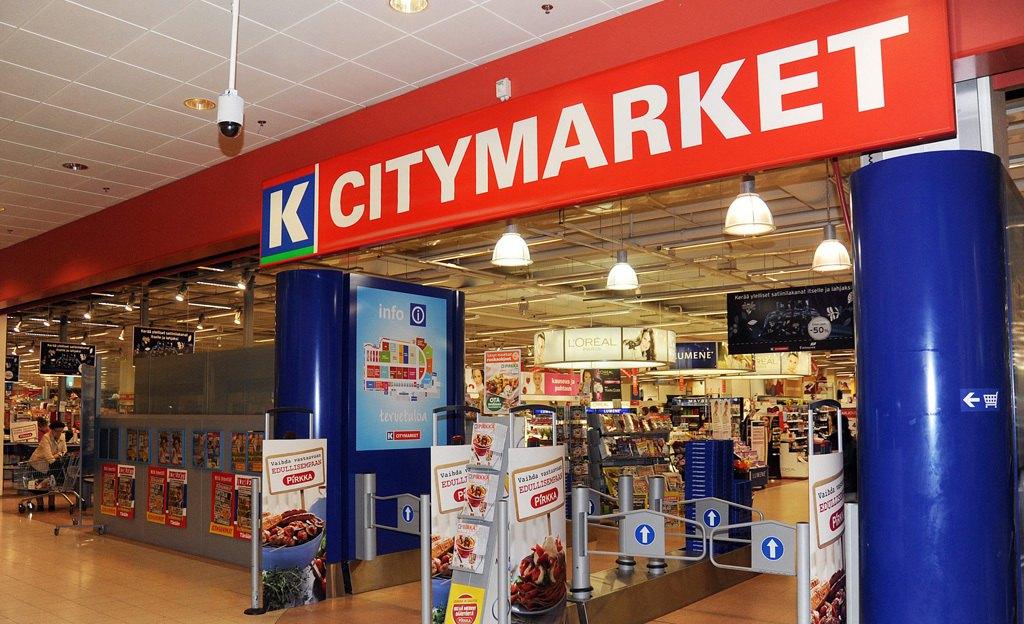 Магазины K-Citymarket в Финляндии
