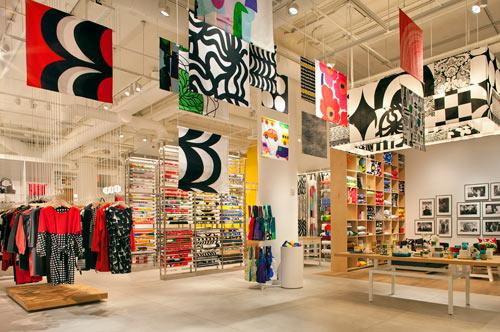 Магазины Marimekko в Финляндии