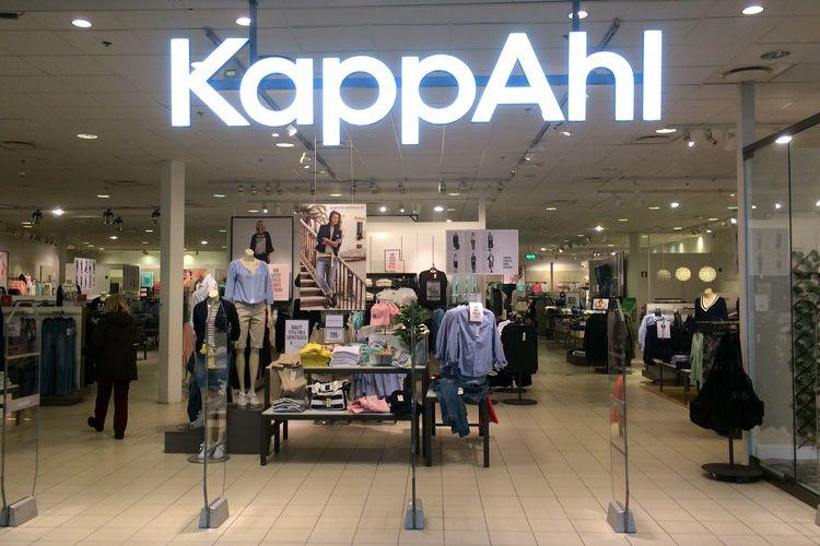 Магазины одежды KappAhl в Финляндии