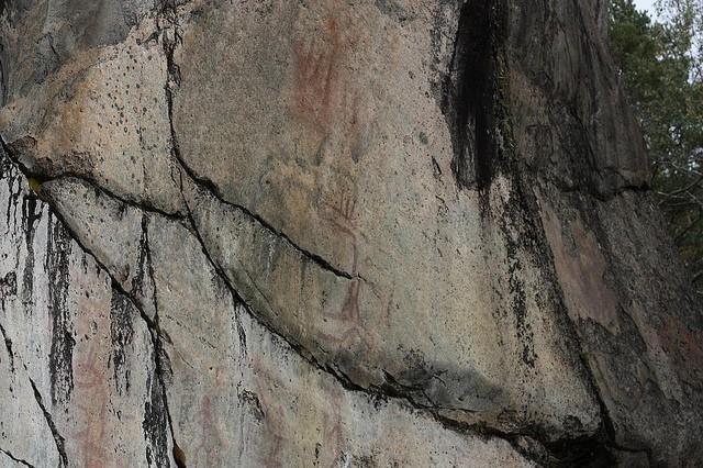 Наскальные рисунки в Астувансалми