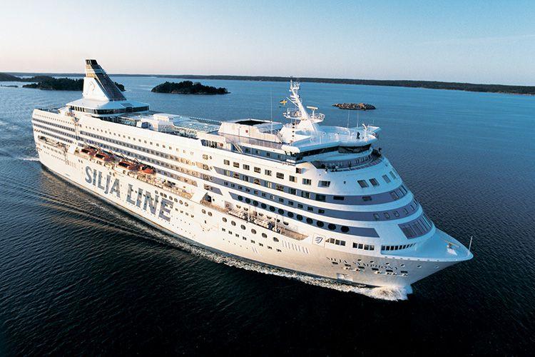 Паромы Silja Line Tallink