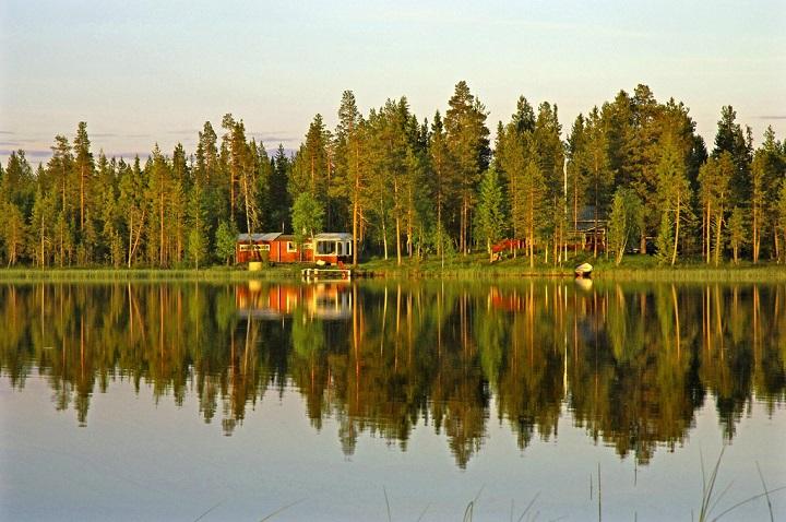 Почему Финляндию называют страной тысячи озер