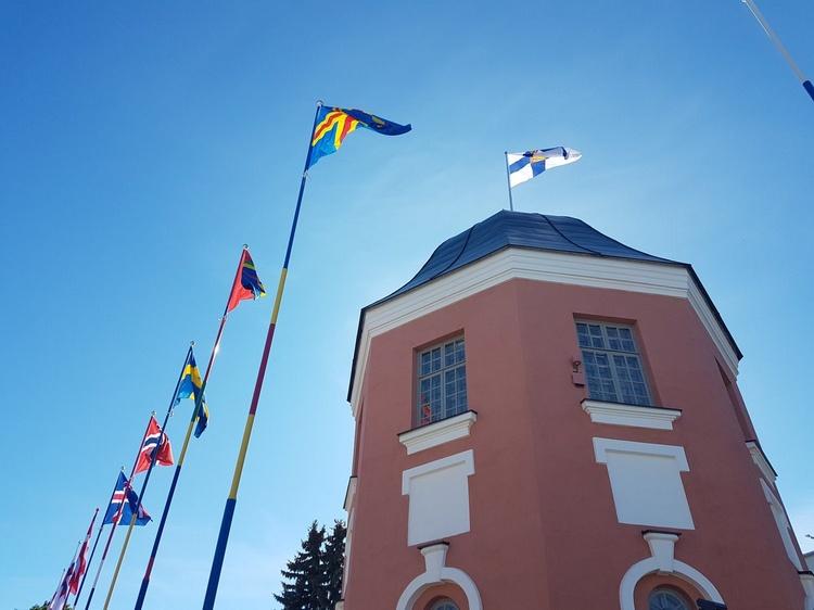 Флаговая башня в Хамине
