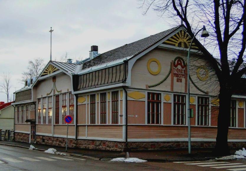 Дом Купца, Хамина