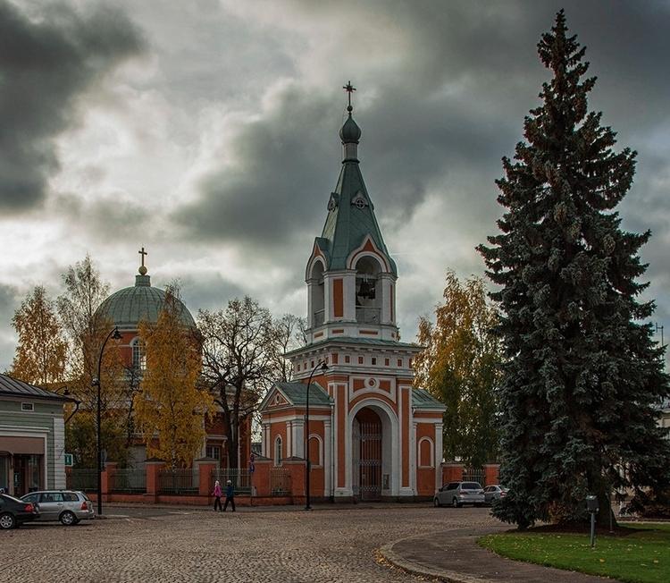 Церковь св. Петра и Павла, Хамина, Финляндия