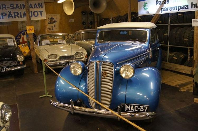 Музей ретро-автомобилей. Что посмотреть в окрестностях Иматры