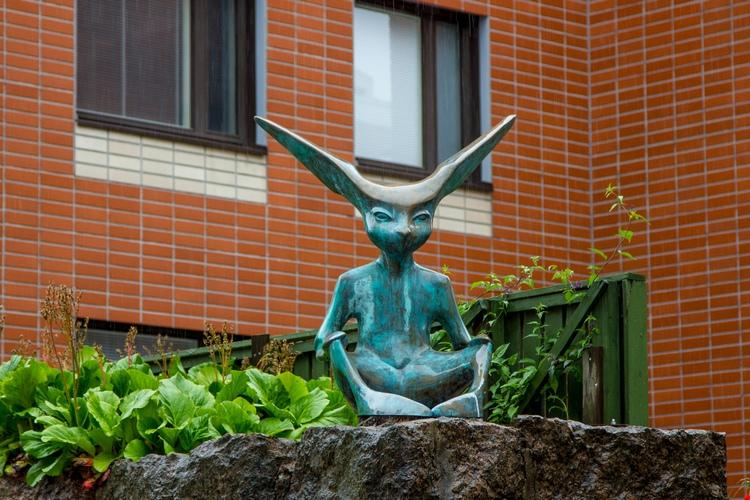 Променад современной скульптуры в Котке