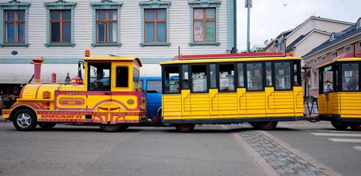 Экскурсионный паровозик, Оулу