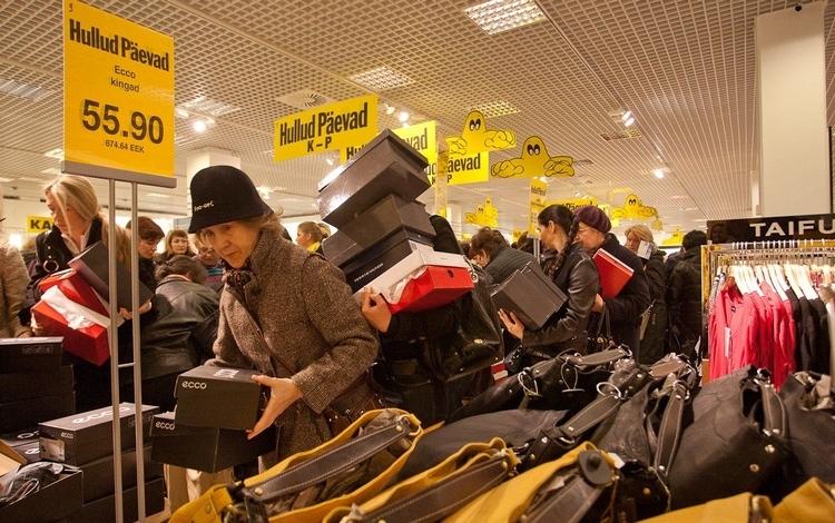 Распродажи в Стокманн в Финляндии