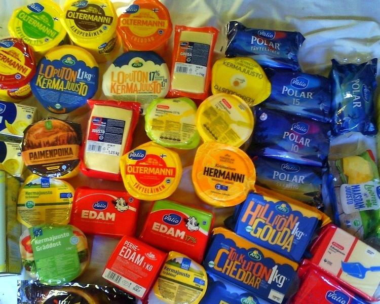 Какой сыр купить в Финляндии