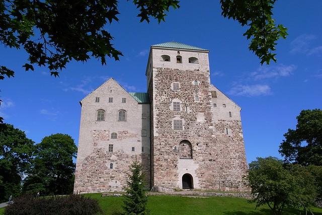 Абоский замок в городе Турку