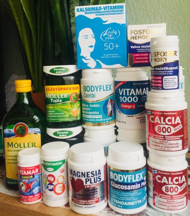 Где купить финские витамины в СПб