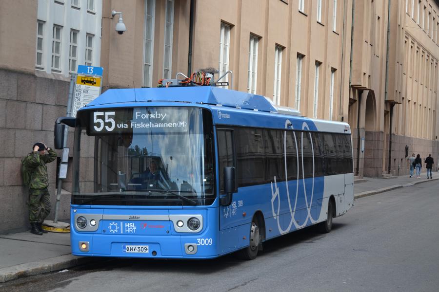 Автобус из Хельсинки