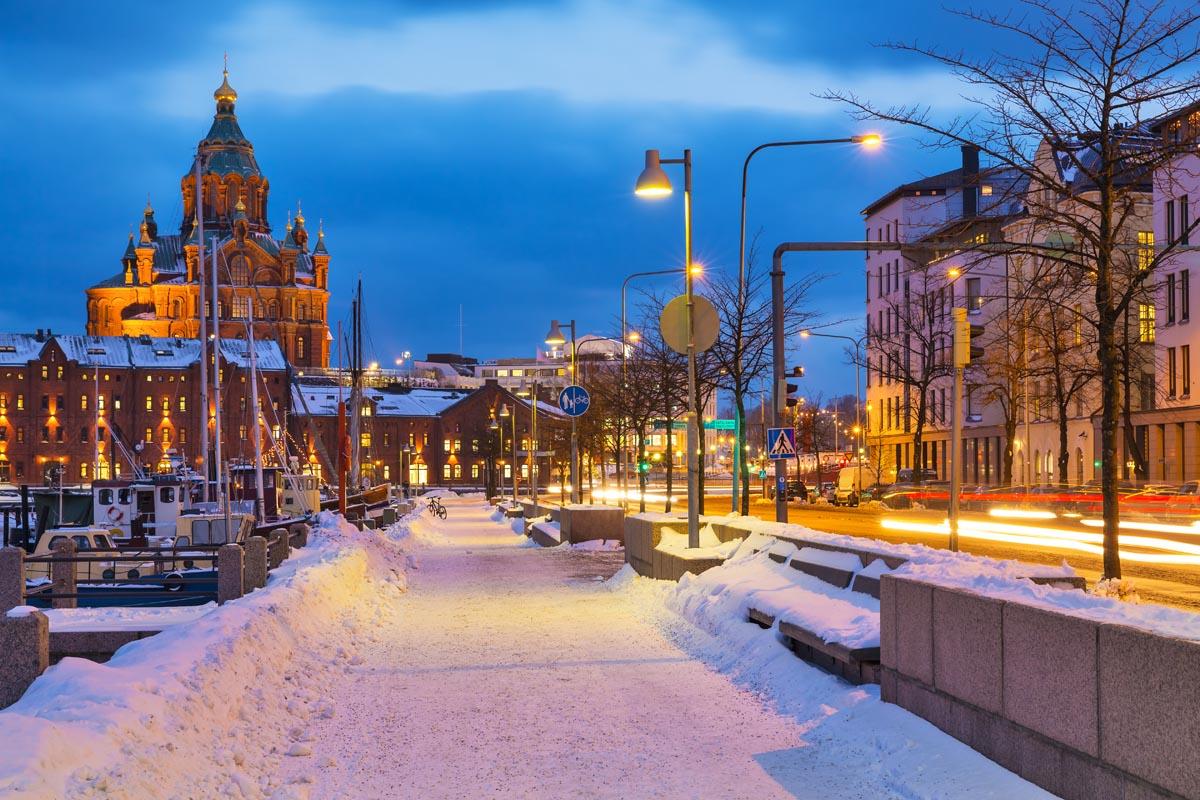 Хельсинки с детьми зимой