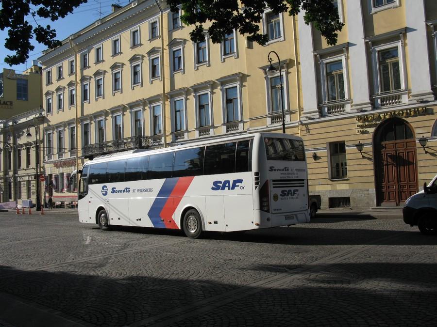 Как добраться из Выборга в Лаппеенранту на автобусе