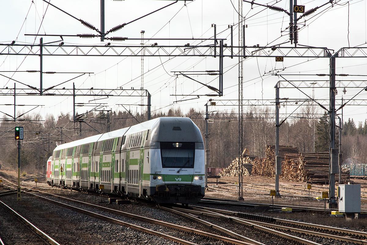Поезд Хельсинки-Турку
