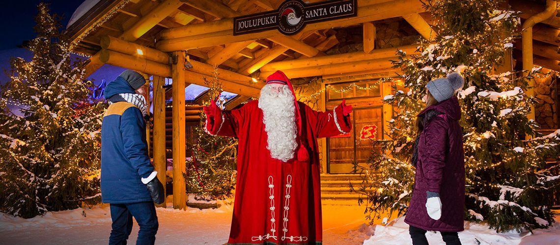 Рождественская деревня