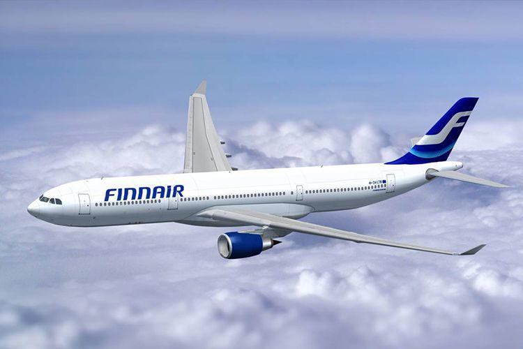 Самолет в Финляндию
