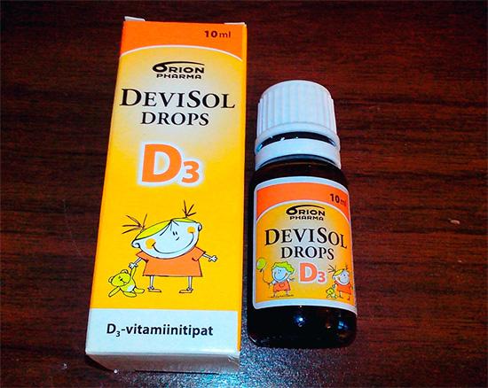 Витамин Д из Финляндии для детей