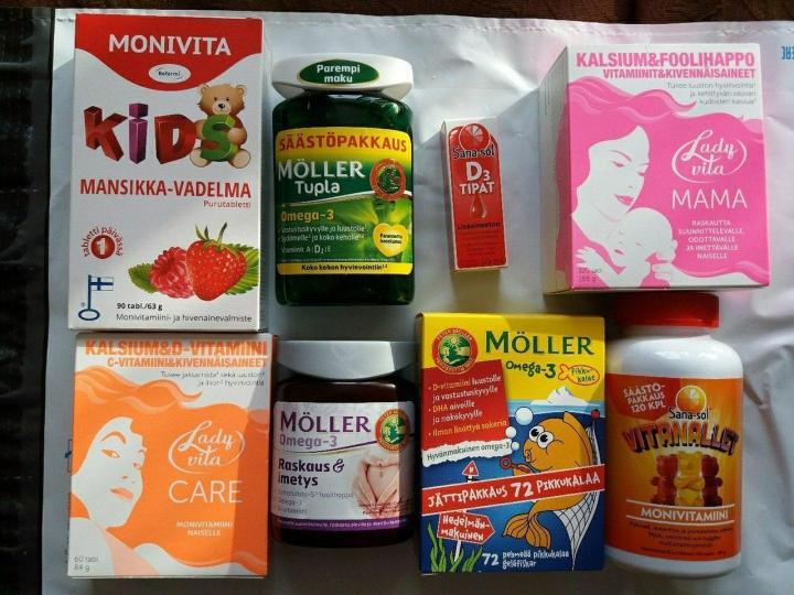 Витамины из Финляндии