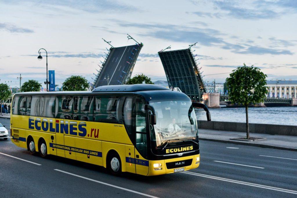 ейсовый автобус в Иматру из Санкт-Петербурга