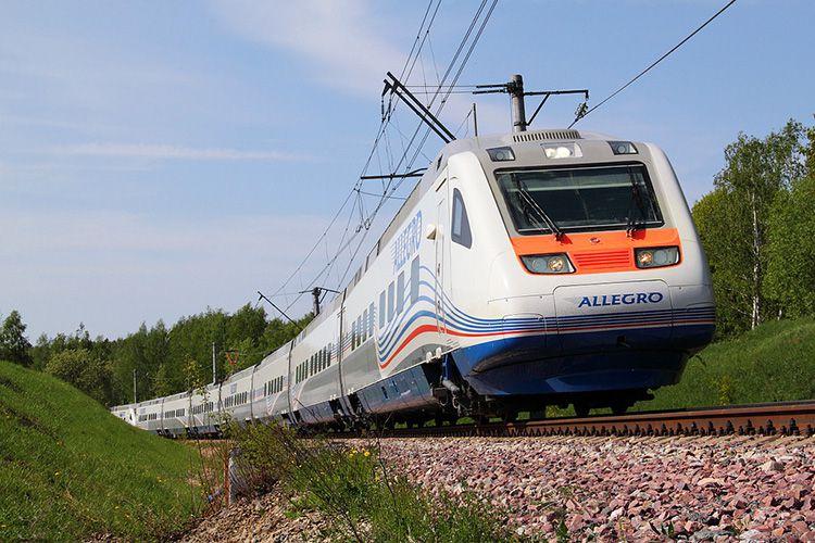 поезд в Финляндию