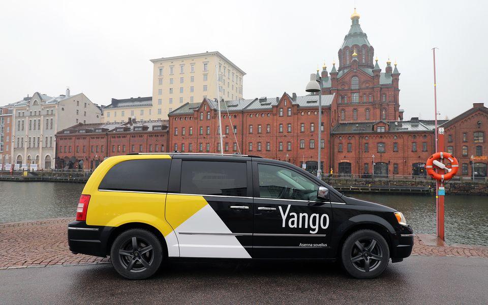 в Хельсинки Яндекс.Такси