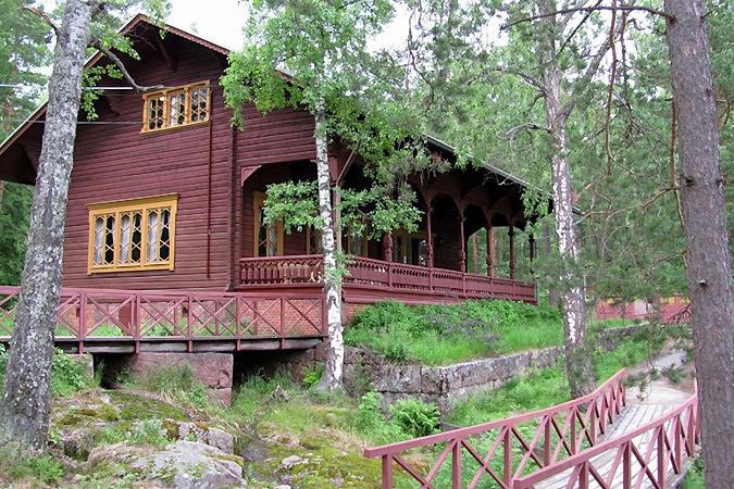 Дача Александра III в Финляндии