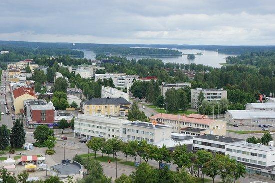 Город Варкаус в Финляндии