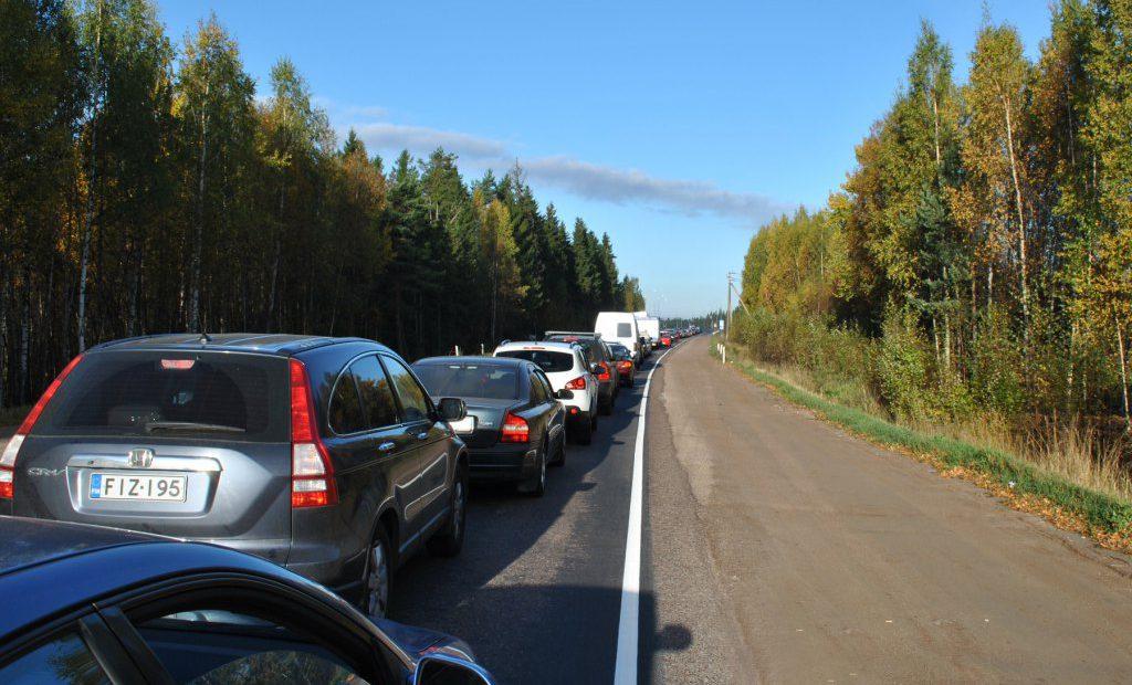 КПП Ваалимаа на границе с Россией
