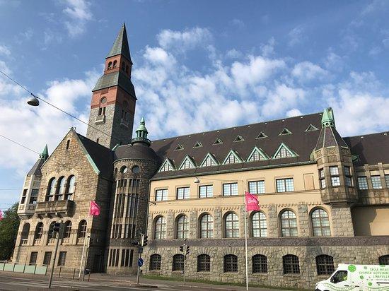 Национальный музей Финляндии в Хельсинки