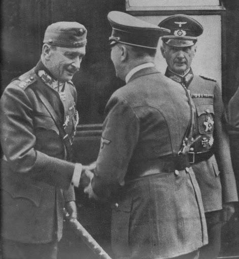 Карл Густав Маннергейм и Гитлер