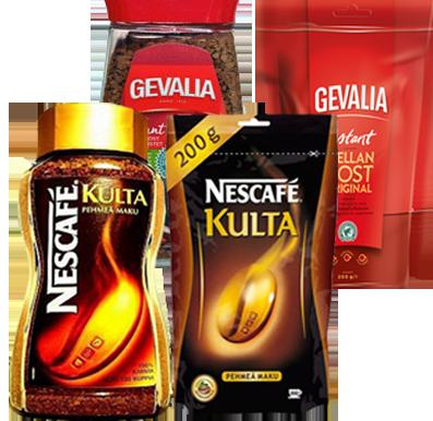 Кофе Nescafe Kulta из Финляндии