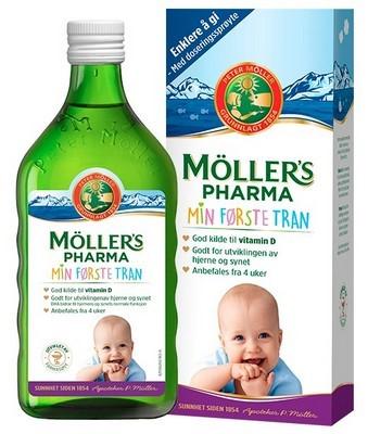 Moller Omega-3 PHARMA MIN FORSTE TRAN
