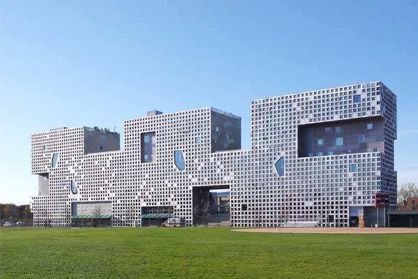 Общежитие для студентов Массачусетского технологического университета