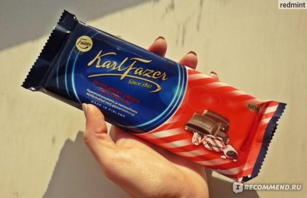 Шоколад Фазер с мятой