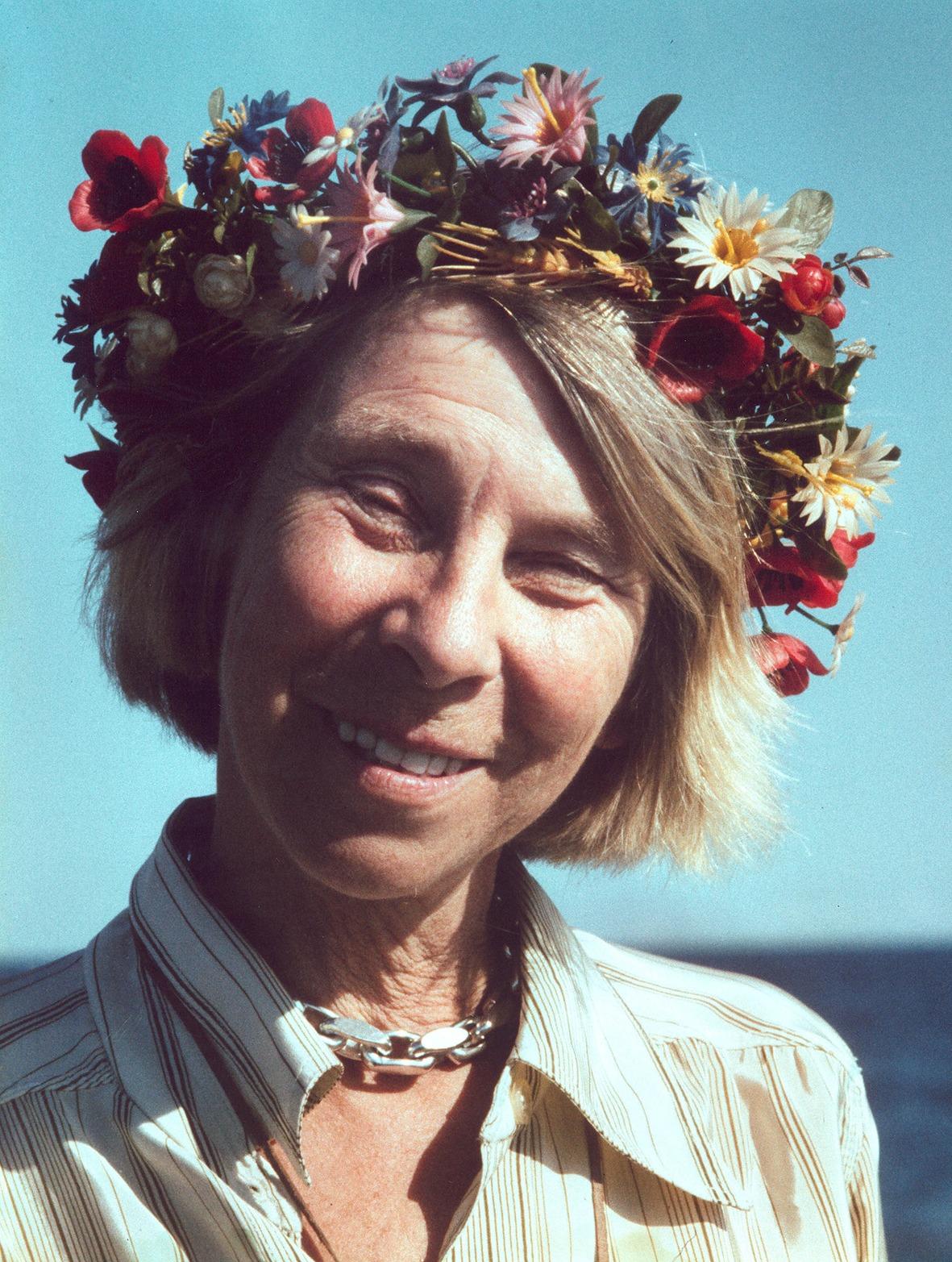 Туве Янссон - финская писатеьница, придумавшая муми троллей